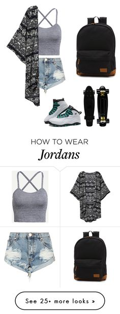 """Untitled #116"" by volleyballstar43 on Polyvore featuring One Teaspoon, Retrò and Vans"