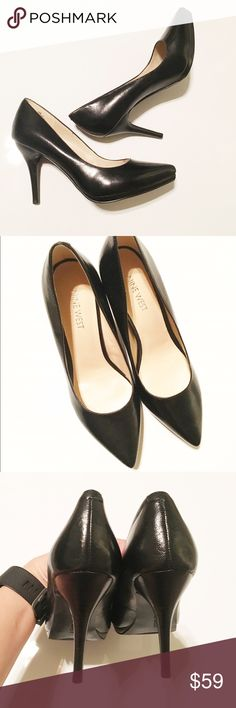 New!! Nine West Pumps Brand new never worn, super cute with small Platform. Nine West Shoes Heels