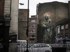 Faith47 New Mural In London, UK