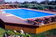 Above Ground Pool Landscape Designs | Best Above Ground Pool Designs Ideas and Pictures 2013