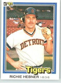 1981 Donruss #125 Richie Hebner - Detroit Tigers (Baseball Cards) by Donruss. $0.88. 1981 Donruss #125 Richie Hebner - Detroit Tigers (Baseball Cards)
