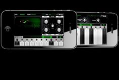 Animoog is the first professional synth designed for the iPhone  and iPod Touch. Powered by Moog's new Anisotropic Synthesis Engine, Animoog captures the vast sonic vocabulary of Moog synthesizers and applies it to the moderntouch surface paradigm,  enabling any user to quickly sculpt incredibly fluid and dynamic sounds that live, breathe, and evolve as you play them.
