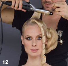 Step-by-Step Technique. Hair: Ruslan Tatyanin for ALFAPARF MILANO, Photo: Yenisel