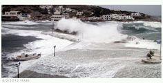 Sikinos port by Costas Habs on Paros, Myconos, Santorini, Niagara Falls, Costa, Greece, Rough Seas, Island, Nature