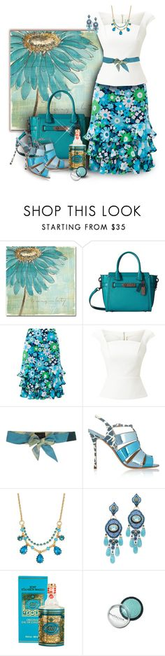 """Chris Paschke's Spa Daisies"" by franceseattle ❤ liked on Polyvore featuring Trademark Fine Art, Coach, Michael Kors, Roland Mouret, DECOTIIS, Trilogy, Nicholas Kirkwood, Betsey Johnson, Miguel Ases and Muelhens"
