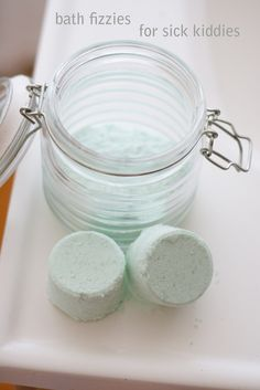 homemade bath bombs to relieve cold symptoms