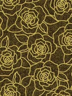 A bold and contemporary take on the classic rose pattern. From the book Bling, available at AmericanBlinds.com