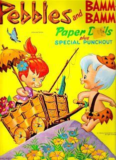 Bonecas de Papel: Flintstones