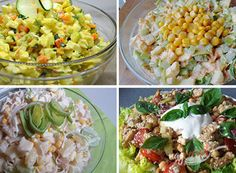 20 najlepších receptov na ľahké FIT šaláty, ktoré vás naštartujú po sviatkoch   NajRecept.sk Potato Salad, Salads, Potatoes, Vegetables, Ethnic Recipes, Food, Diet, Vanilla Cream, Powdered Milk