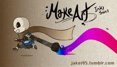 jakei95: Make art! Ink!Sans Yaaaayy comyet