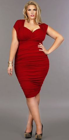 cutethickgirls.com plus size red dresses (12) #plussizedresses