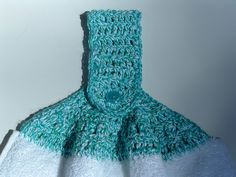 Free Crochet Towel Topper Patterns | Kitchen Swap Set | My Recycled Bags.com