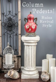 Column Pedestal: Ruins Revival Style - The Navage Patch