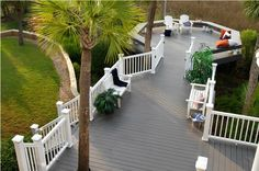 View our Deck and Railing photo gallery. Get outdoor living inspiration with our variety of Deck photos. Deck designs and plans. Wpc Decking, Composite Decking, Timbertech Decking, Composite Flooring, Wood Flooring, Deck Design, Landscape Design, House Design, Wall Design