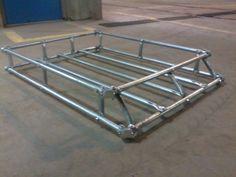 my EASY no weld roof rack - Jeep Cherokee Forum