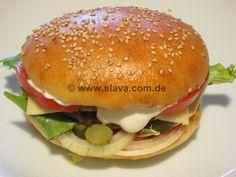 Slavas Megasofte Hamburger-Buns « kochen & backen leicht gemacht mit Schritt für Schritt Bilder von & mit Slava