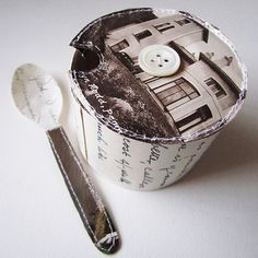 Jennifer Collier - Sugar bowl & spoon