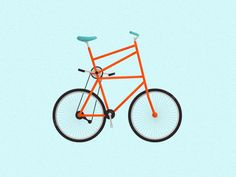 Jacob Boie - Bike illustrations