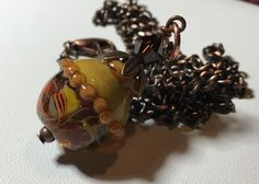 A personal favorite from my Etsy shop https://www.etsy.com/listing/260368667/handmade-lampwork-pendant-srajd-necklace
