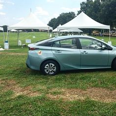 Set-up for #destinationdix is happening! #triprius It's Tomorrow at #Dix park & #free to attend. Check out destinationdix.com for more info!! #green #parks #Eco #greenspace #outdoors