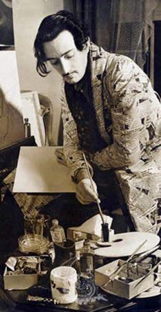 Salvador Dali, 1920.