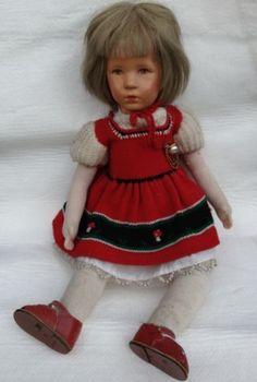 Käte Kruse Puppe Original 40er Jahre | eBay