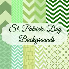 "FREE St. Patrick""s Day Backgrounds"