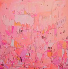 ORIGINAL 'Mandala Moose' 24 x 24 por Jennifer por jennifermercede, $520.00