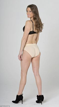 The pants also had a bottom lifting effect for Georgia, proving they're a multi-tasking product