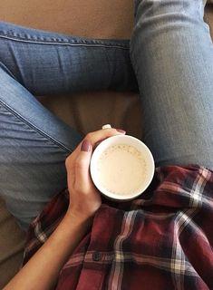 Un petit cappuccino pour commencer la journée.
