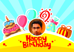 Hope your special day will bring you lots of happiness, love and fun. You deserve them a lot. Enjoy!..Happy Birthday #Aneesh Prasad