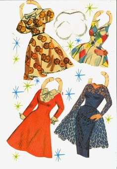 Donna Reed boxed set from Saalfield 1960 cut set reassembled - Bobe Green - Picasa Web Albums