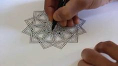 islamic geometry tutorial youtube