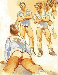Gay Art, Male Art, Classic to Modern, Fantasy Art.