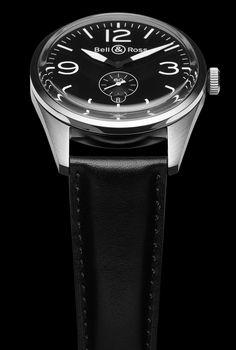 BR 123 ORIGINAL  Black Dial