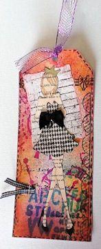 Prima - Julie Nutting Mixed Media Doll Stamp