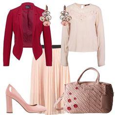 3c891060024f Romantica contemporanea  outfit donna Romantico per ufficio e serata casual