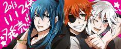 D Gray Man | Kanda, Lavi and Allen (I super love you, Lavi!)
