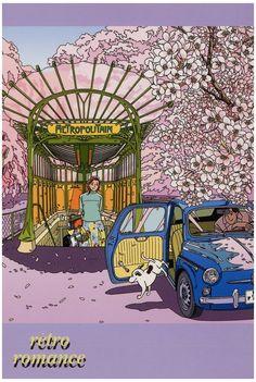 Amazon.co.jp: わたせせいぞう ポストカード(W07003K): 文房具・オフィス用品 Comics Illustration, Japanese Illustration, Love Illustration, Illustrations, Manga Artist, Car Drawings, Art Sketches, Art Girl, Comic Art