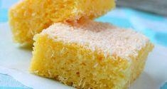 Bolo De Rulao (Semolina Cake) Recipe - Bolo de Rulao is a coconut and semolina cake which is also called Bolo de Batica.This is a Goan cake recipe. In Portuguese language 'bolo' means cake. Gluten Free Cakes, Gluten Free Desserts, Gluten Free Recipes, Goan Recipes, Cooking Recipes, Food Cakes, Cupcake Cakes, Greek Cake, Semolina Cake