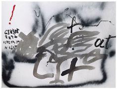 Antoni Tapies  www.artexperiencenyc.com