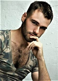 Beautiful Men Faces, Gorgeous Eyes, Perfect Eyes, Hairy Men, Bearded Men, Boys Don't Cry, Hommes Sexy, Hairy Chest, Muscular Men