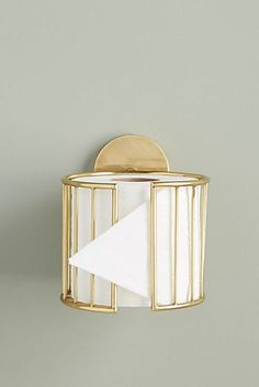 Kelly Toilet Paper Holder by Anthropologie in Brown, Hardware - Bathroom Ideas Home Decor Accessories, Bathroom Accessories, Decorative Accessories, Deco Studio, Toilet Roll Holder, Unique Toilet Paper Holder, Bathroom Toilet Paper Holders, Diy Toilet Paper Holder, Toilet Paper Dispenser