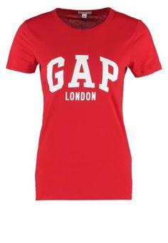 Gap Camiseta Print Pure Red camisetas y blusas red PURE print Gap camiseta Noe.Moda