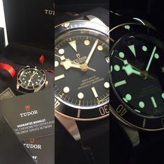 Pre owned Tudor Black Bay with full set. Tudor Black Bay, Pre Owned Watches, Fine Watches, Full Set, Nice Watches