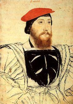 Thomas Boleyn, 1st Earl of Wiltshire and father to George, Anne, and Mary Boleyn.