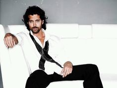 Hrithik Roshan. Oh,yes you WILL get me to sit though a 3.5hr. movie...