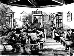 Darlinghurst Prison - The School Room - 1866