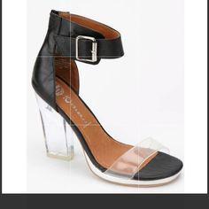2d2cc1aad8 Jeffrey Campbell Shoes | Women'S Soiree Jeffrey Campbell Plastic Heels |  Color: Black | Size: 8