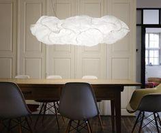 La suspension design effet papier en forme de nuage CLOUD-XL-60 est idéale